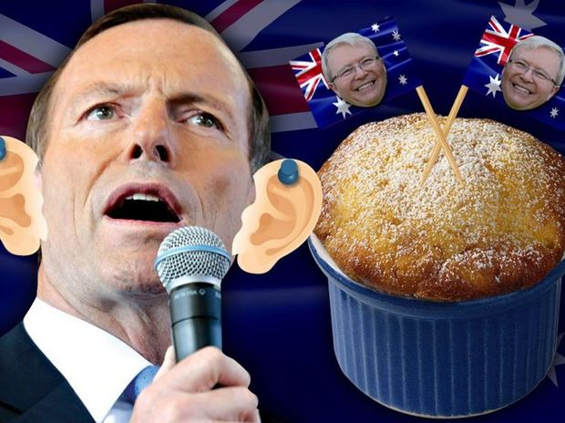 Whether it's pin the ears on Tony Abbott or a hearty bowl of Kevin Rudd double souffle, we have got it  covered when it comes to throwing an election night party.