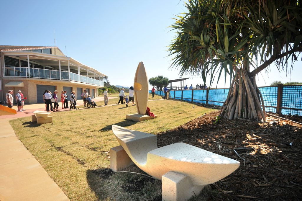 The Park Beach foreshores makeover is complete.