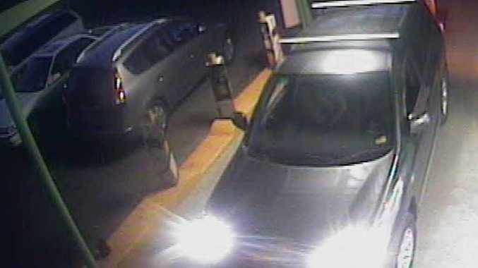 CALL FOR HELP: Police want to talk to the driver of this car who saw an assault in Fernvale.
