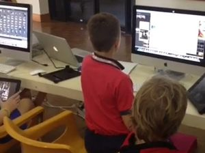 Kids connect with technology at Artspace