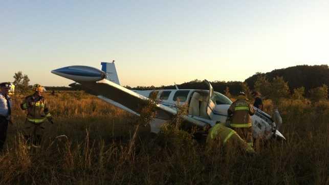 Emergency landing at Caloundra. Photo: RACQ CareFlight Rescue