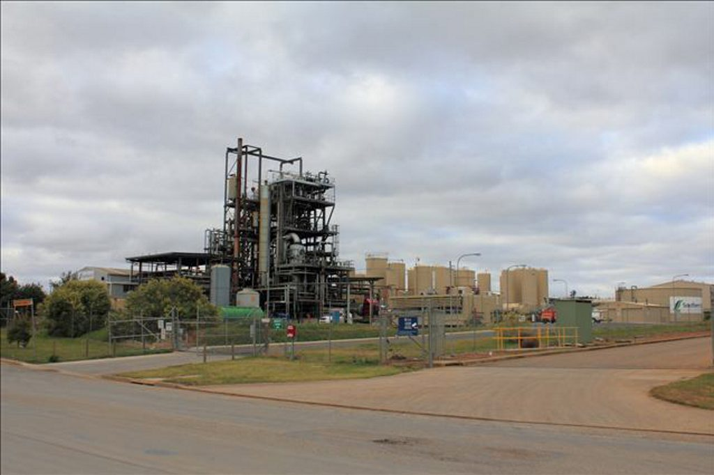 A bigger version of this Southern Oil Refinery at Wagga Wagga will be built in Gladstone.