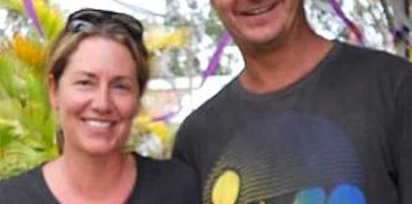 The Coolum community is rallying around to help the family of Louise Dekens and Dave Young, killed in their home last week. Photo Contributed