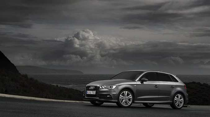 The new Audi A3 with an S-Line pack.