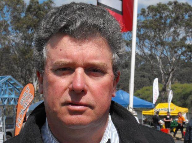 Queensland DairyFarmers Organisation president, Brian Tessmann.