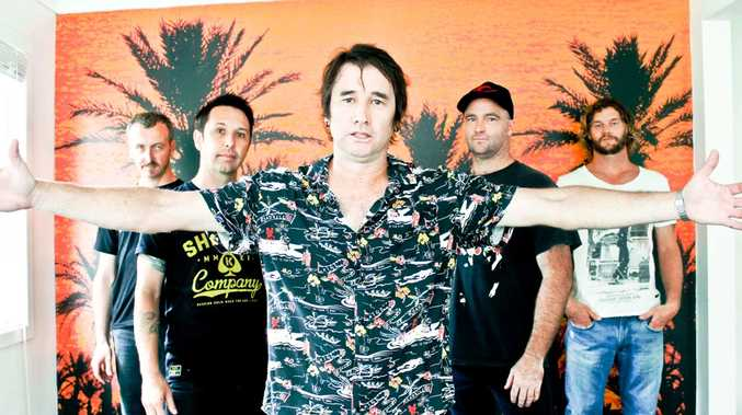 High Horse is a coming together of several different bands, including members of Cletus, King Pest, Grinspoon and Ulterior.