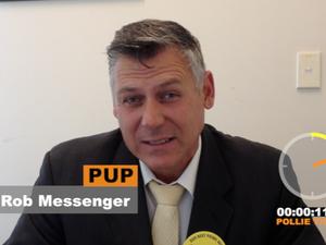 Hinkler candidate Rob Messenger