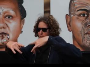 Kiwi artist inspires with spraycans