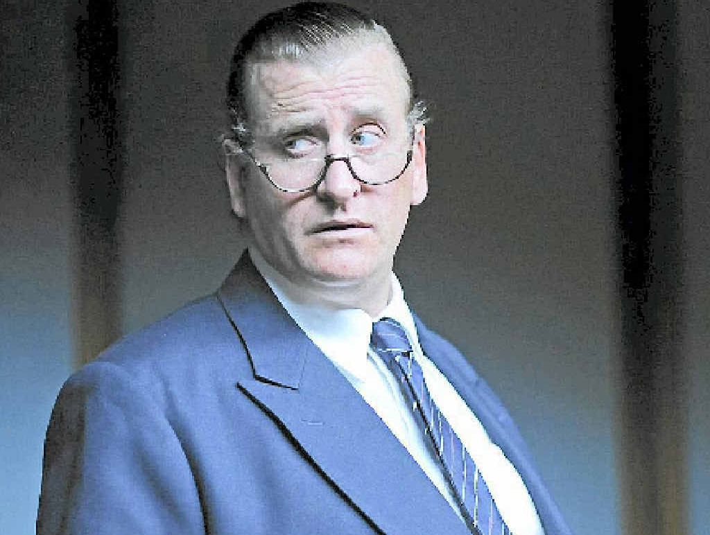 POWER PLAY: Lachy Hulme in the TV mini-series Power Games: The Packer-Murdoch Story.
