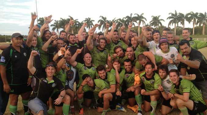2013 Mackay District Rugby Union A Grade champions Whitsunday Raiders