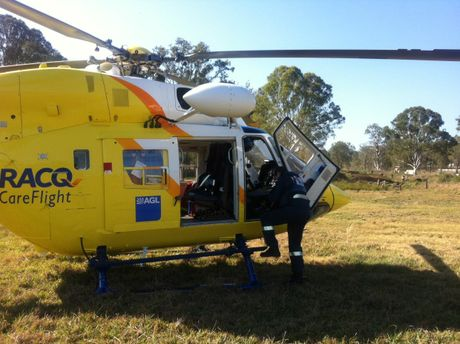 Courtesy RACQ CareFlight Rescue