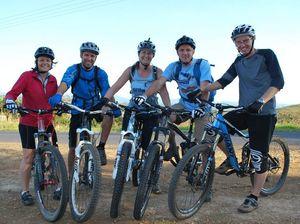 Dirty Wheels hit the track in Byron Bay ready for Bike Week