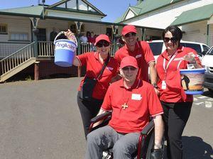 Bishop finds life tough rolling around Toowoomba