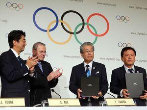 Japan celebrates 2020 Olympics bid win