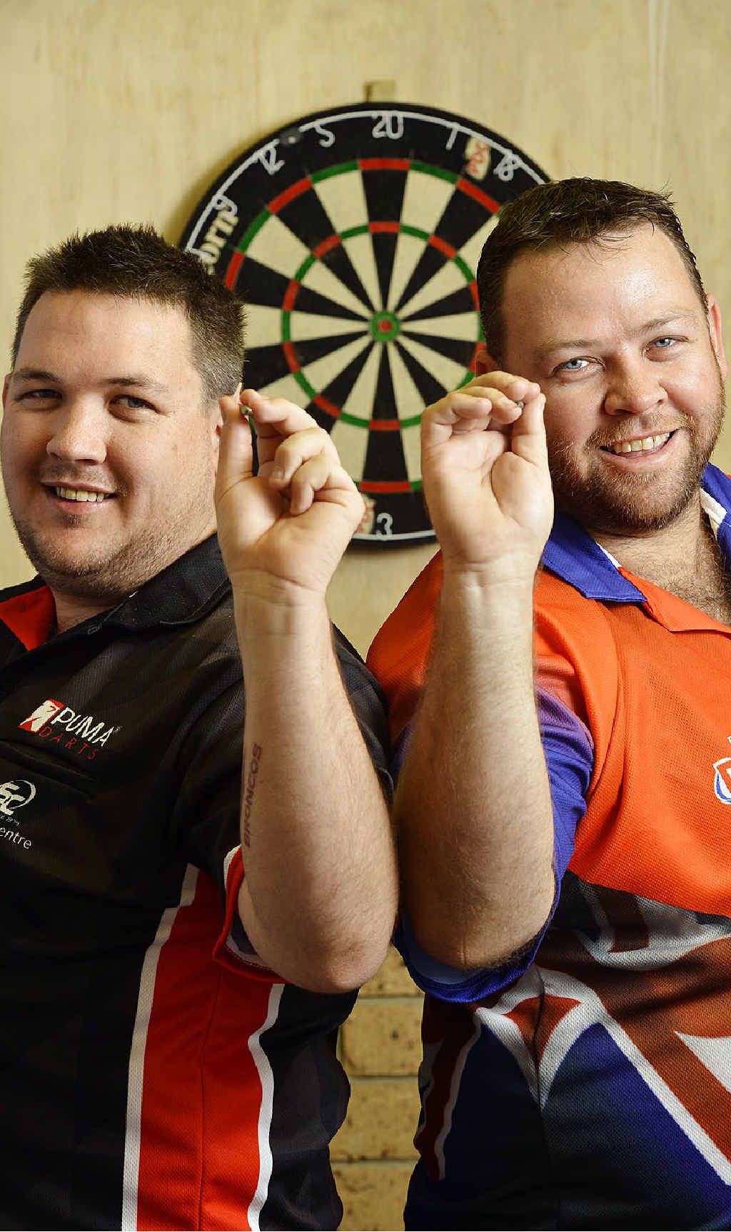NO BULL: Brothers Jamie and Gordon Mathers recently competed in the Sydney masters. Gordon is ranked number 2 in Australia.