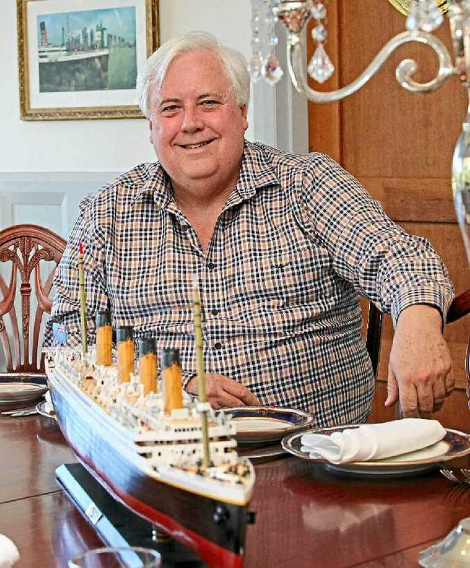 RESOLVE: Clive Palmer.