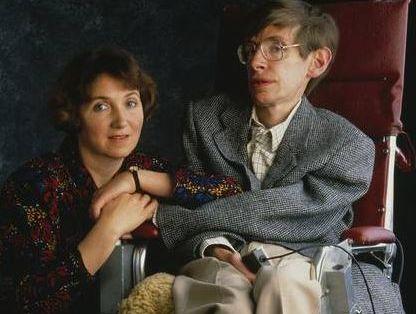 Stephen and Jane Hawking
