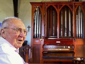 Church organ's longevity music to creator's ears