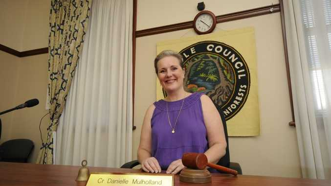 Danielle Mulholland Kyogle's new Mayor.