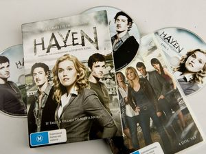 Under-rated supernatural drama series Haven heats up