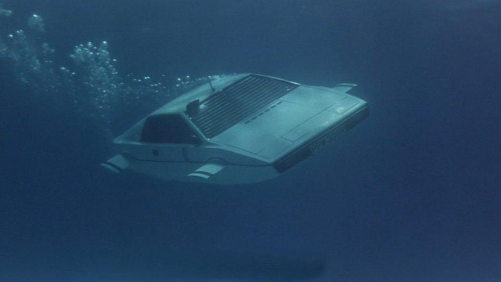 The James Bond Lotus Esprit submarine car.