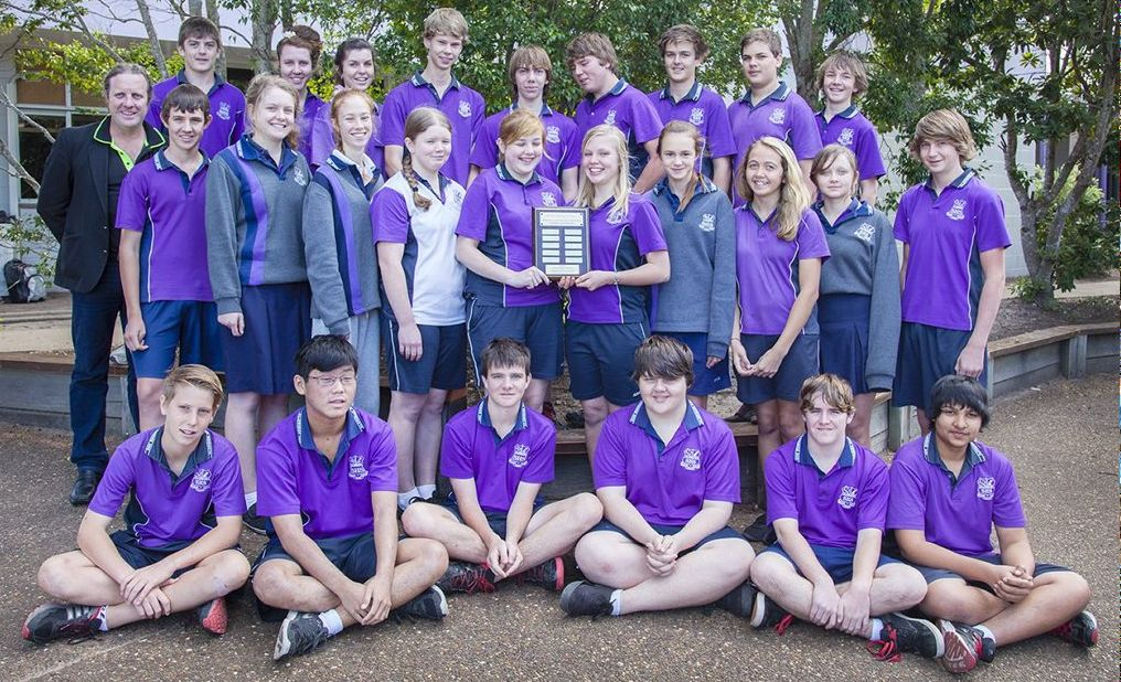 The Fraser Coast Science and Engineering Challenge regional winning team, Aldridge State High School, competed for the state title in Townsville.