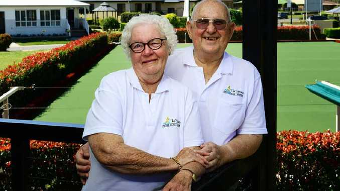 HOME SWEET HOME: Daryl and Beryl Parcell are happy residents of The Springs Lifestyle Village in Silkstone.
