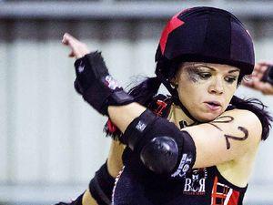 Roller derby brings out Nikki's Punk