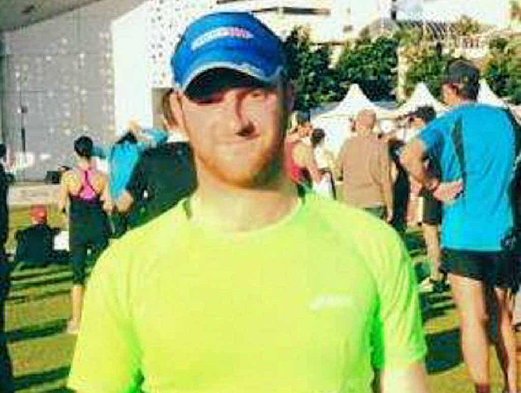 Colin Noble, at the Gold Coast half marathon, will run in the New York City Marathon this year.