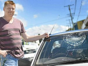 Mad Monday turns bad when player smashes windscreen