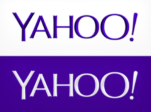 Yahoo's reveals new logo, bevels and all
