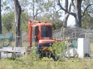 Police use excavator in search for Jasmine