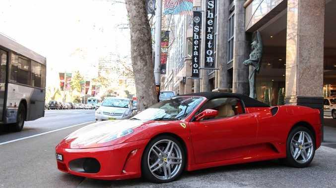 The 2007 Ferrari F430 Spider.