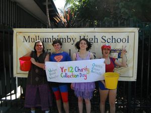 Mullumbimby High School Year 12 Charity Day Collection