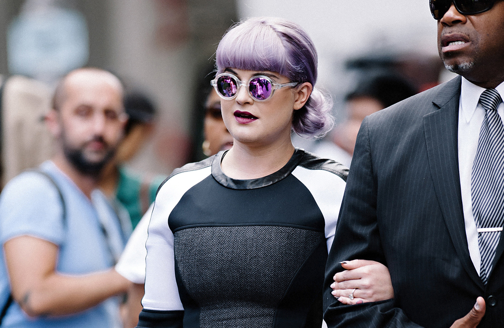 Kelly Osbourne looking curvy.