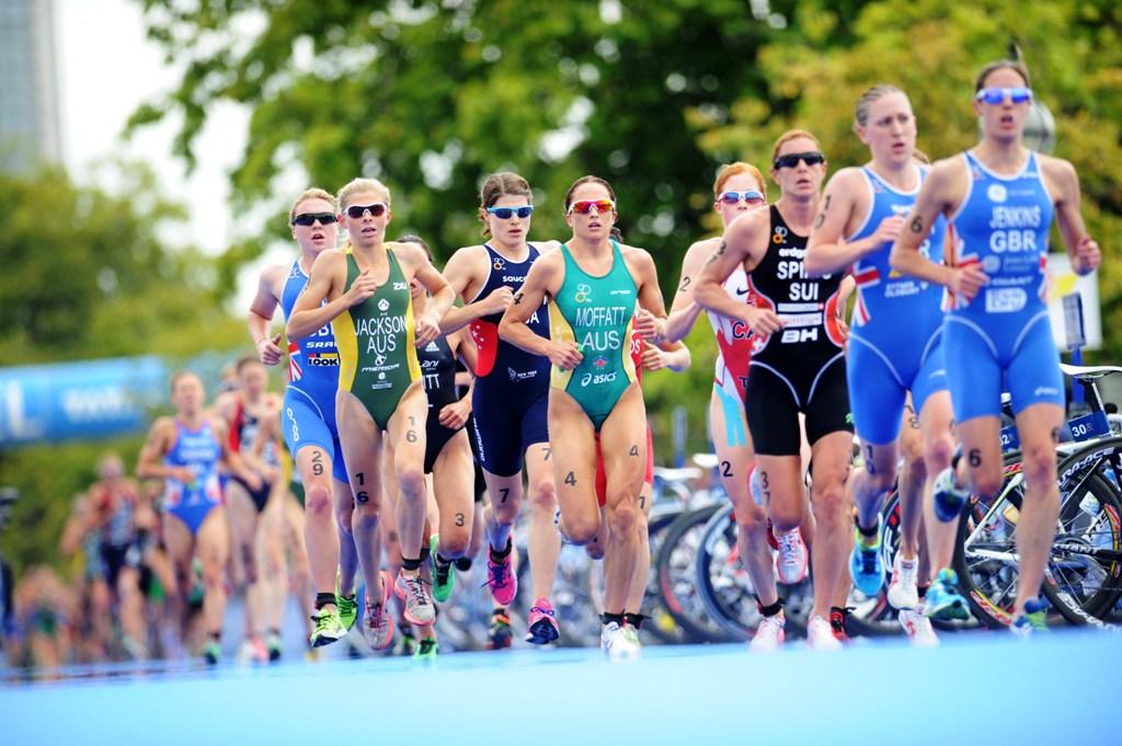 Emma Moffatt is in fine form ahead of this weekend's ITU Elite Women's World Championship. Photo: Delly Carr / ITU