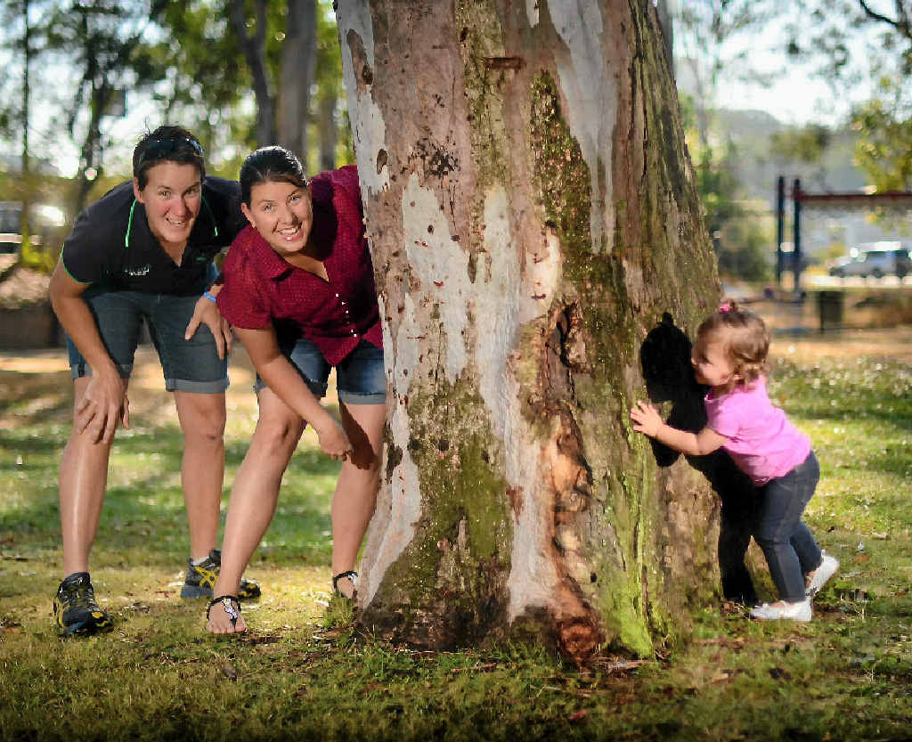IMPASSIONED: Em and Mikayla Glossop want their daughter Ella to grow up knowing there is equality in Australia.