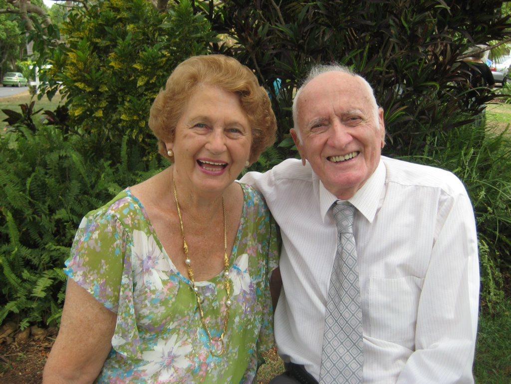 Ken & Joyce Chittick at their 60th wedding anniversary.