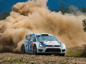 Ogier's unstoppable start to Rally Australia