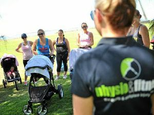 New mums stroll towards good health and fitness