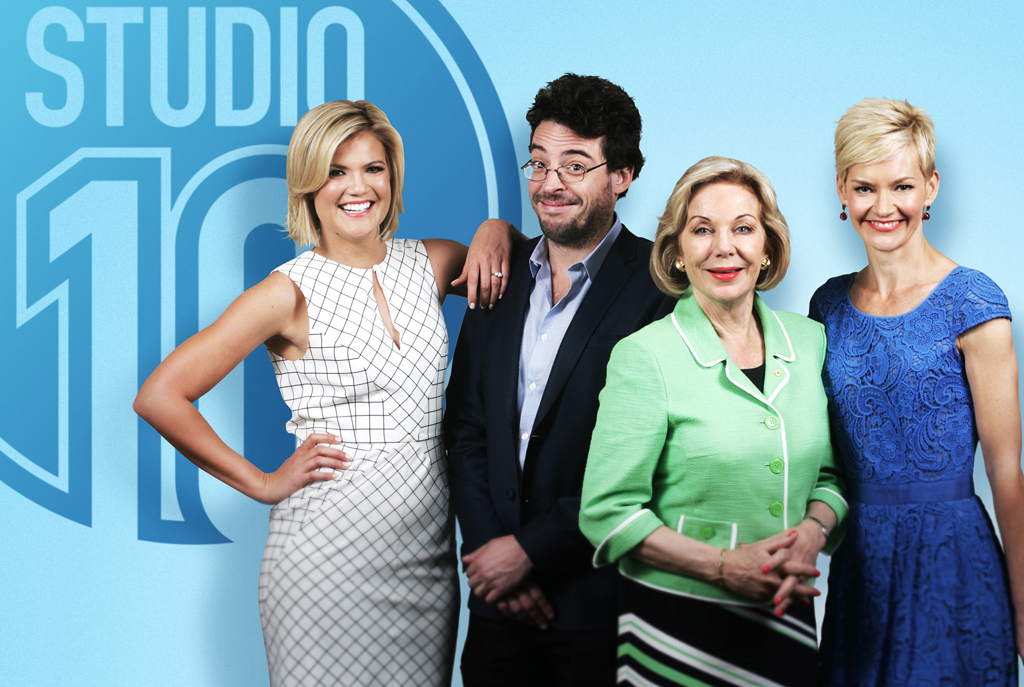 Sarah Harris, Joe Hildebrand, Ita Buttrose and Jessica Rowe will star on Studio 10.