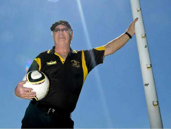 MOVING ASIDE: Westlawn Tigers club president Dick Pryor is stepping down after three years in the role. Photo: Adam Hourigan