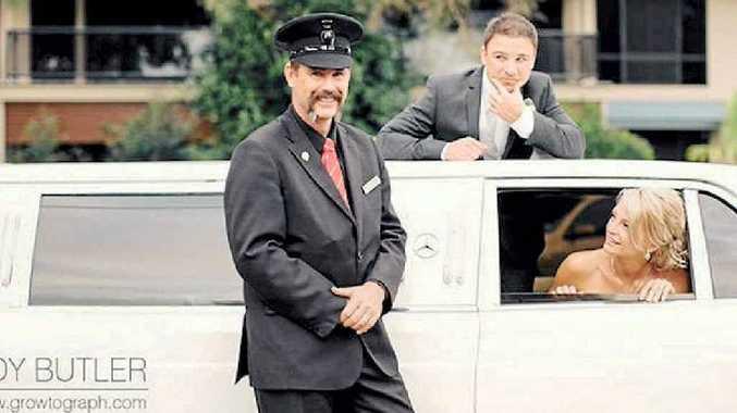 HAPPY MAN: Matt Murphy of Essence Limousines reckons he's got the best job in the world.