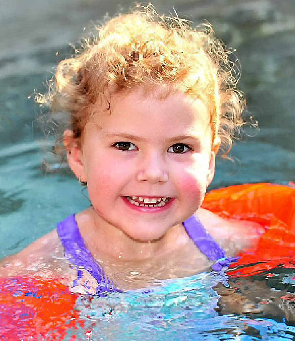 STRANGERS TO THE RESCUE: Little Frankee-Lee Shaw will have surgery in the US to restore her hearing thanks to the community's generosity.