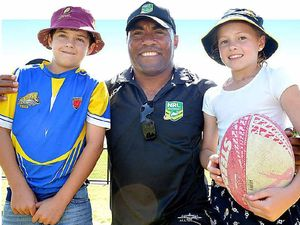 Petero's a touch moved by fans