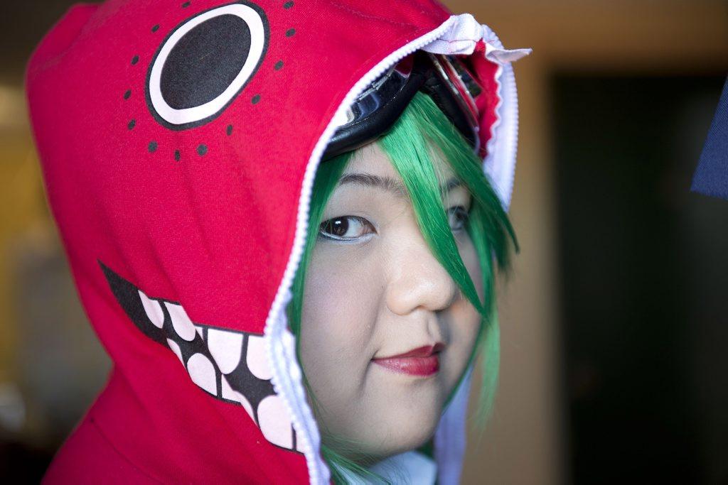 Toowoomba university student Mikosei Okumura loves to cosplay.