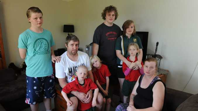 MOVING HOUSE: Tanya Harris and her family have been ordered to leave their Regional Housing home by September 21.