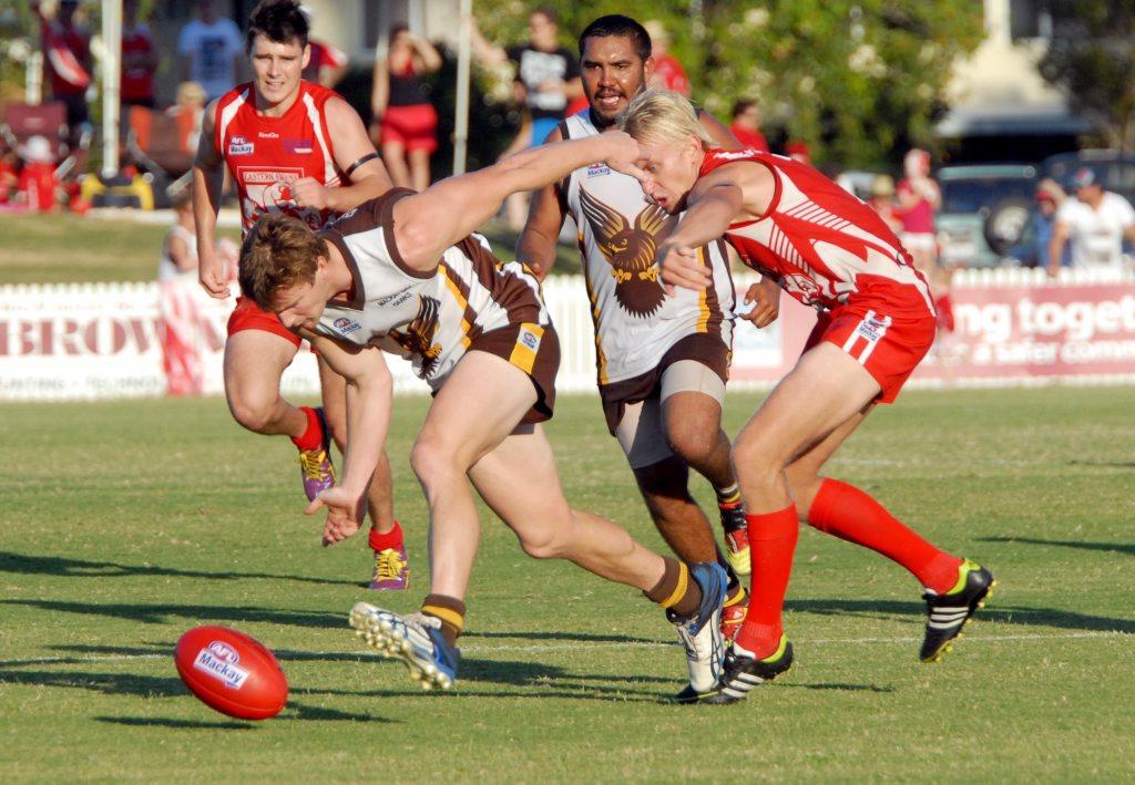 Mackay AFL Grand Final - Hawks Vs Swans Photo Tony Martin / Daily Mercury