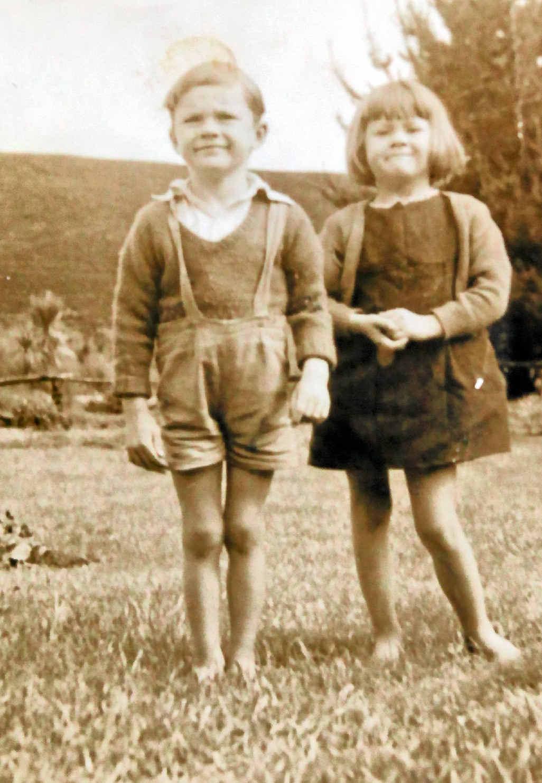 Durelle Dean pictured with her her twin Jeffrey.