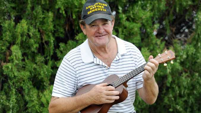 Bill Ogden is starting up a Fraser Coast Ukulele club and looking for more keen players.